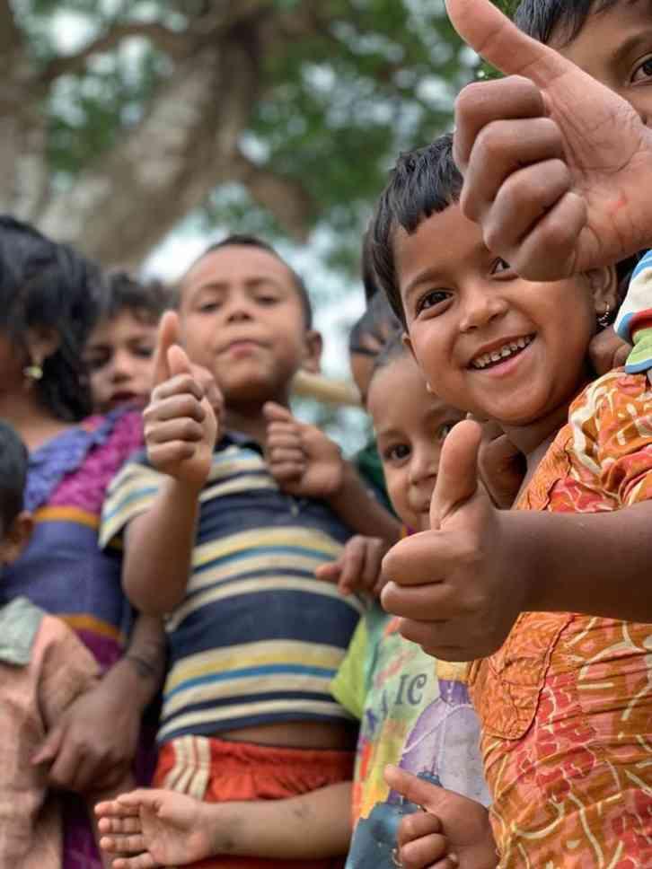 Rohingya Children Christophe Mortier